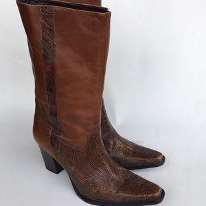 ANTONIO MELAN Western Boots Sz 6.5